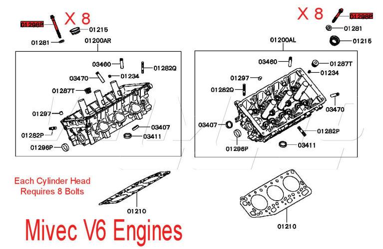 v6 mivec engines here choose aftermarket or original mitsubishi