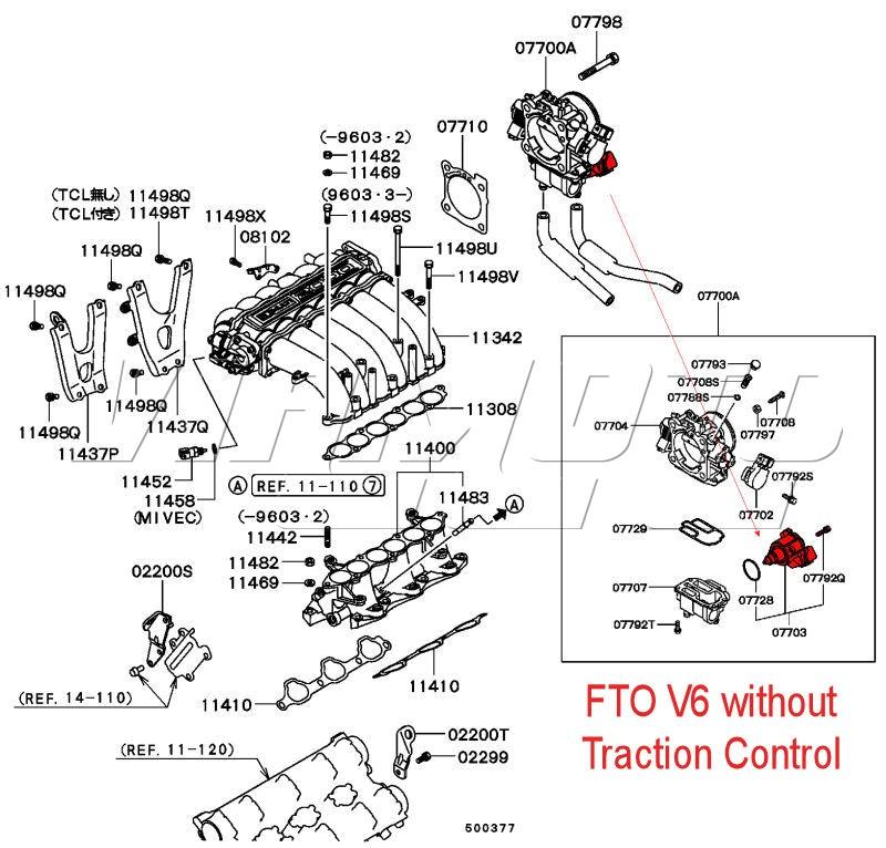 viamoto mitsubishi car parts idle speed controller