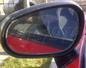 Wing Mirror Glass with Frame - Mitsubishi FTO