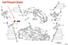 Fuel Pressure Sensor - Toyota GT86 ZN6 2012 onwards