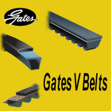 Gates V Belt - Fan Belt - 6279MC 10mm x 666mm