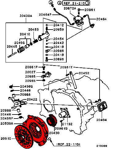 Clutch Kit Diagram