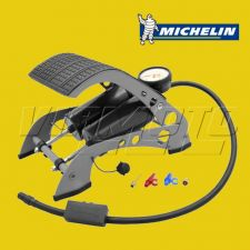 Michelin-Twin-Piston Foot Pump - 100psi