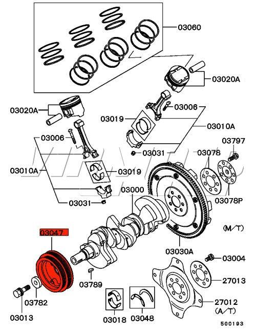 Viamoto Car Parts Mitsubishi Legnumgalant Vr4 Ec5a Ec5w Parts