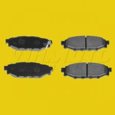 Rear Brake Pads for Solid Rear Discs - Toyota GT86 ZN6 2012 onwards