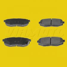 Rear Brake Pads for Vented Rear Discs - Toyota GT86 ZN6 2012 onwards