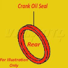 Rear Crank Oil Seal - Toyota GT86 ZN6 2012 onwards