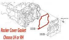 Rocker Cover Gasket - Toyota GT86 ZN6 2012 onwards